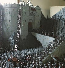 Epic LEGO Build Recreates The Insane Battle At Helm's Deep