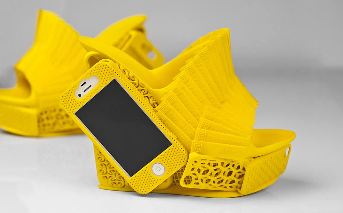 3D Printed Heels Sport A Smartphone Case For Safe Keeping
