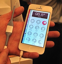 iPhone Doctor: Your Phone Can Check Your Temperature & Call Doctor