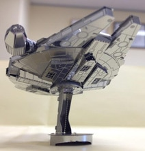Laser-Cut Sheet Metal Star Wars Millennium Falcon Model Kit