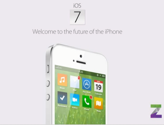 Apple Goes Flat With New iOS 7 User Interface Concept