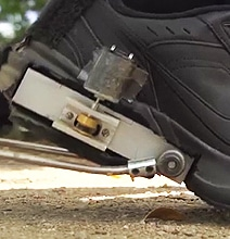 Innovative Shoe Attachment Generates Electricity When Walking