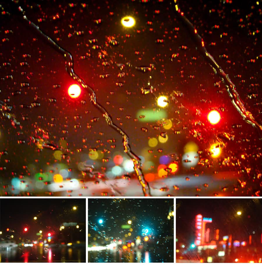 Car Headlights That Make Raindrops Invisible When You Are Driving