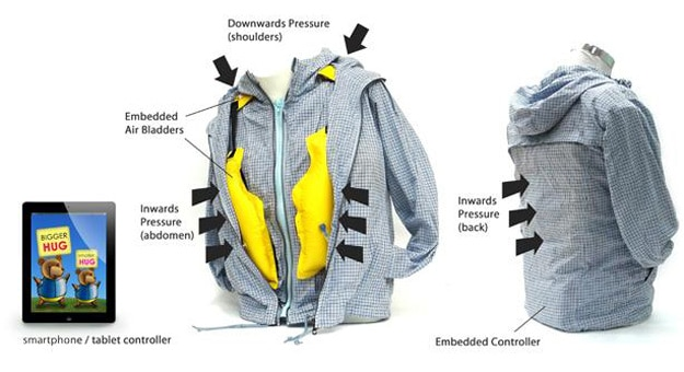 Tech Jacket & App Simulate Hugging Your Child At Just The Right Time