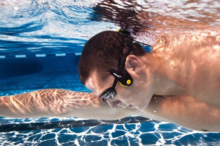 Underwater MP3 Player Lets You Listen To Music With Your Cheekbones