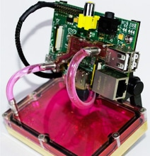 Watercooled Raspberry Pi Computer Flirts With Aesthetics