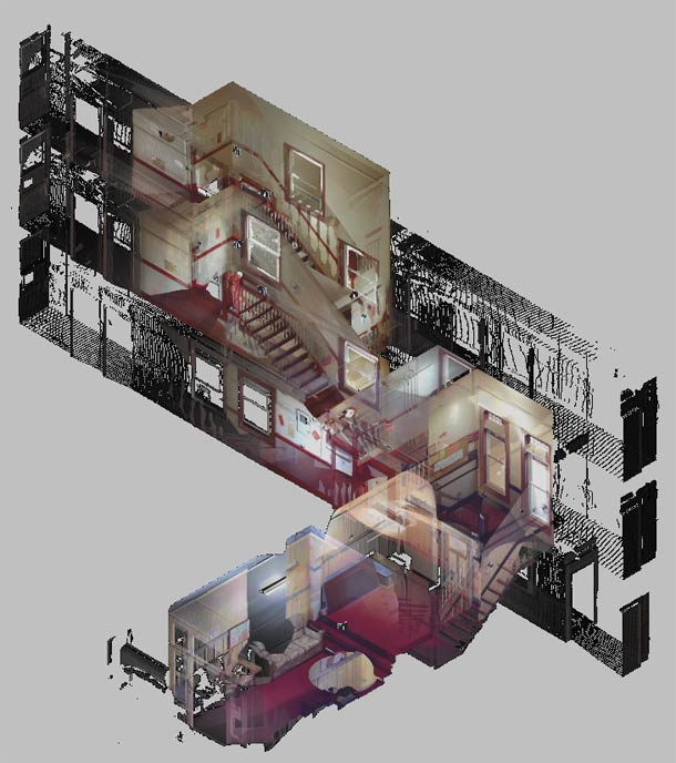 3D Laser Scanning Technology Maps Interior & Exterior Of Buildings