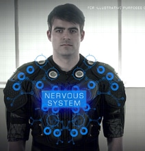 Futuristic Gaming Suit Adds Real Impact For Gamers