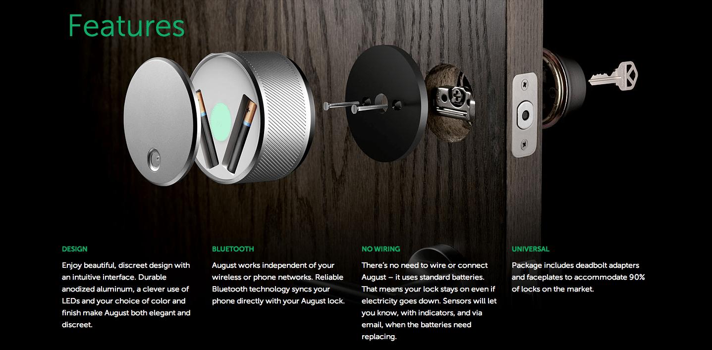 August Smartphone Smart Lock