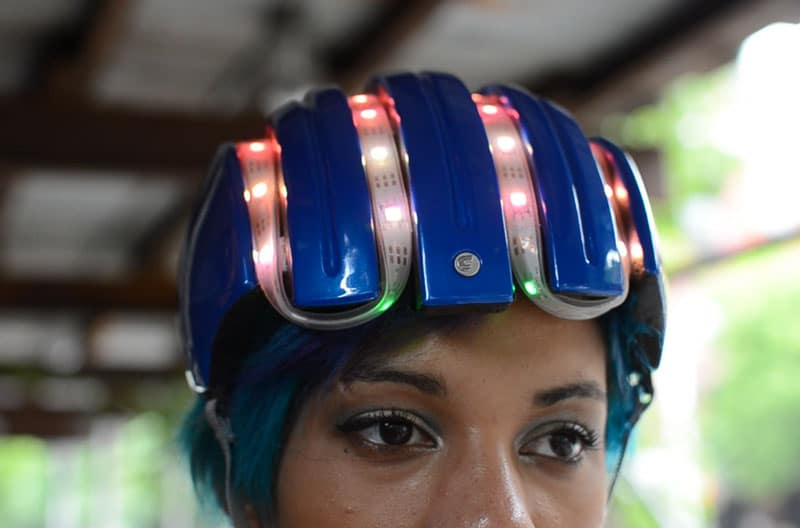 DIY Smart Cycling Helmet With GPS And Compass For Navigation