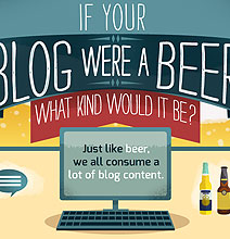 If Your Blog Were A Beer What Kind Of Beer Would It Be? [Infographic]