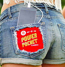 Power Pocket: Jean Shorts Charge Your Smartphone With Body Heat
