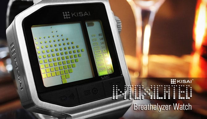 Breathalyzer Watch Knows If You Should Get A Ride Home Or Call A Cab