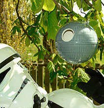 Officially Licensed Death Star Birdhouse For Geeky Birds In Your Yard