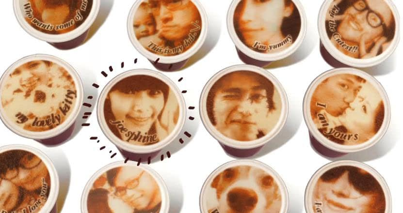 Latte Art: Innovative Coffee Printer Puts Your Own Face In Your Foam