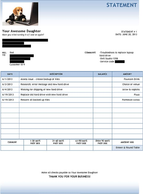 computer-invoice-for-dad