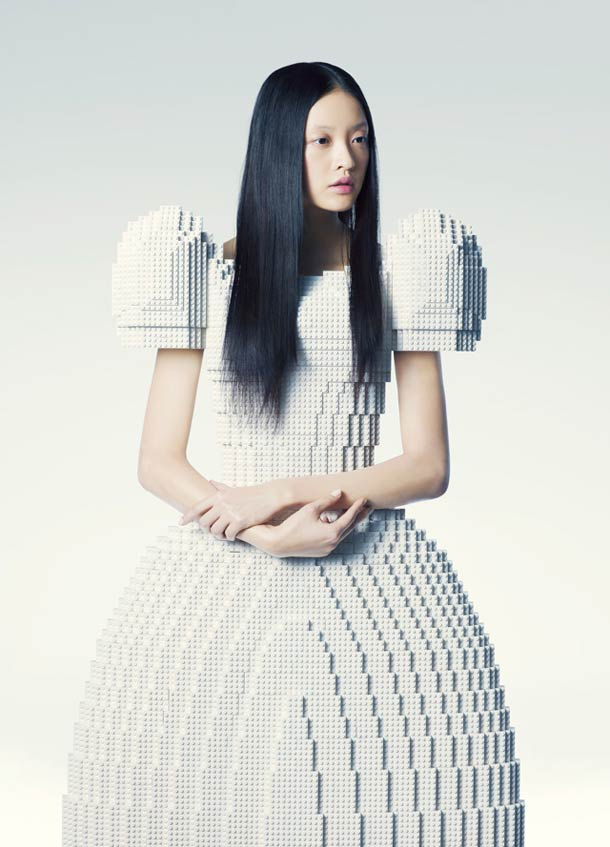 Creative LEGO Wedding Dress Is The Ultimate Geek Wedding Wear