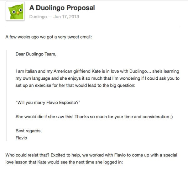 Guy Uses Language App To Digitally Propose To His Foreign Girlfriend