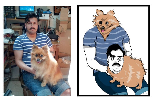 Funny Caricatures Of Real Facebook Photos Will Give You A Giggle