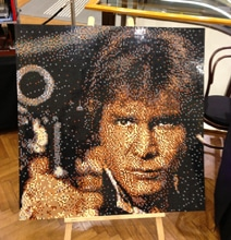 Extreme LEGO Portraits Feature Legendary Han Solo Poster