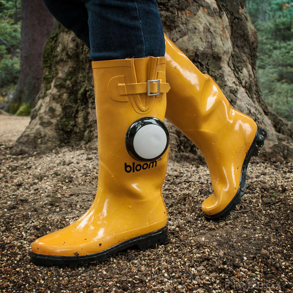 High Tech Rain Boots Take Dancing In The Rain To A Whole New Level