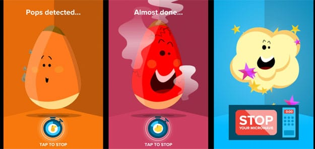 Popcorn App Makes Sure You Never Burn Your Microwave Popcorn Again