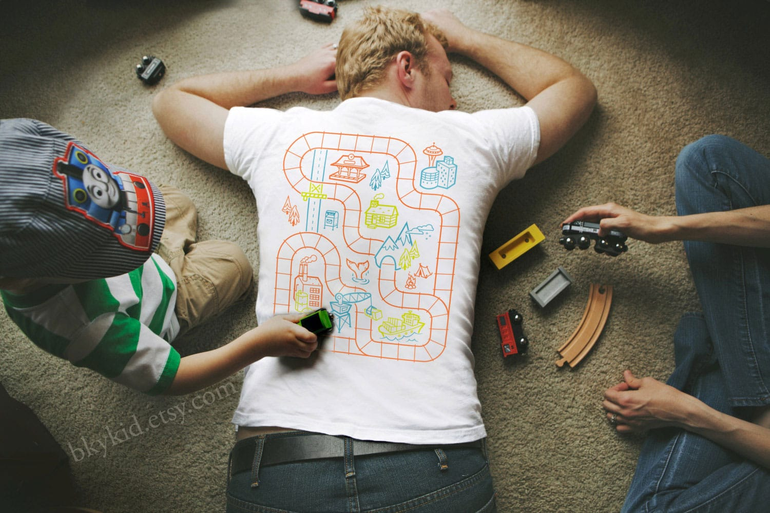 Railroad T-Shirt Is Perfect Entertainment For Kids (While You Sleep)