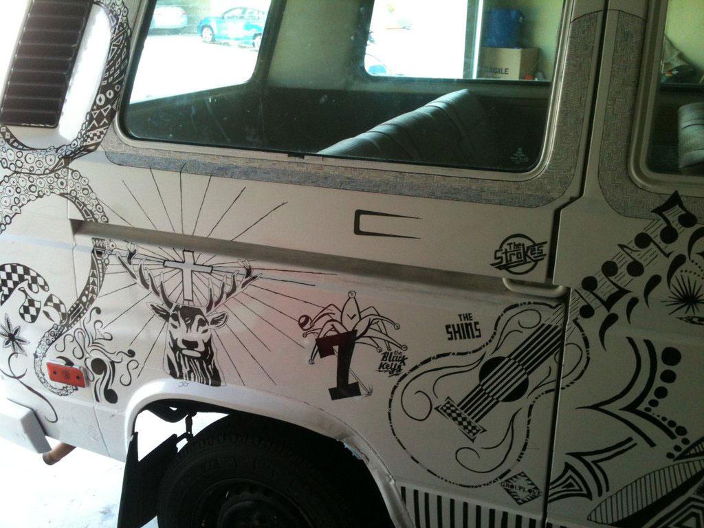 sharpie-art-marker-volkswagon-van