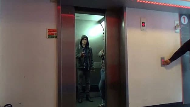Star Wars Elevator Prank: Use The Force To Make Elevators Open