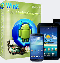 WinX Mobile Android Video Converter With 5-Day Software Giveaway