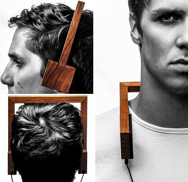 Wood Headphones Are A Refreshing Change (And You Can Burn Them)