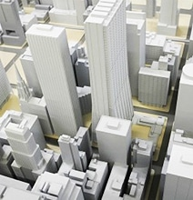 Incredibly Detailed Chicago Cityscape 3D Printed Using Google Maps