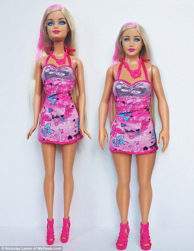 3D Printing Used To Redesign A Barbie Doll As A Real 19-Year-Old Girl