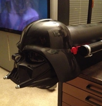 Darth Vader Custom Mailbox For The Extreme Star Wars Fan