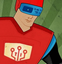 DIY Superhero: How Today's Tech Creates Superheroes [Infographic]