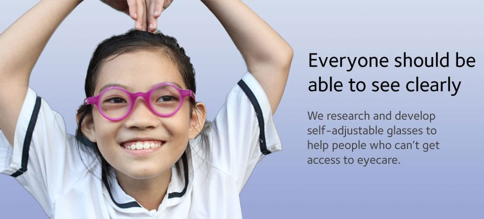 Self-Correcting Glasses Let Kids Adjust Their Own Glasses Prescription