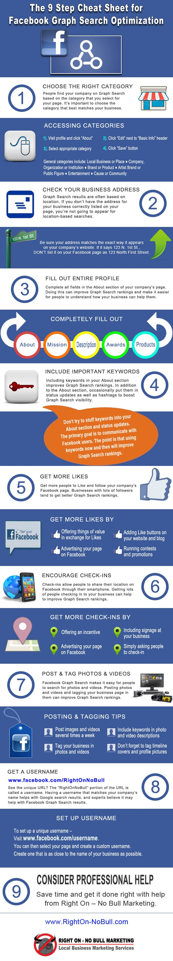 9 Steps To Facebook Graph Search Optimization [Cheat Sheet]