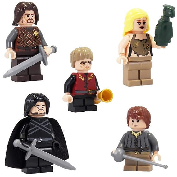 Dedicated Fan Creates Impressive Game Of Thrones LEGO Figurines