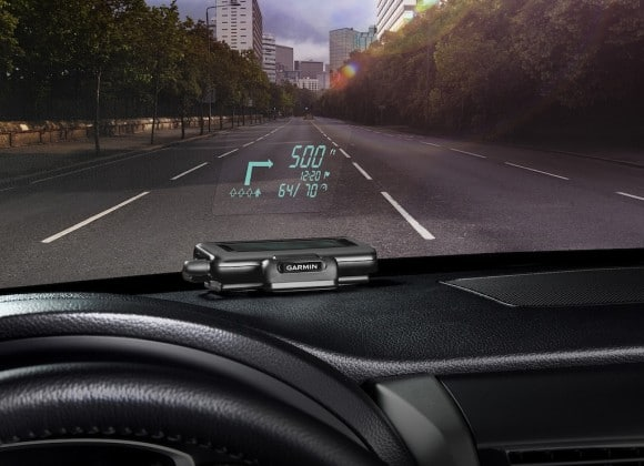 Garmin Announces Innovative Heads-Up Display For Your Car