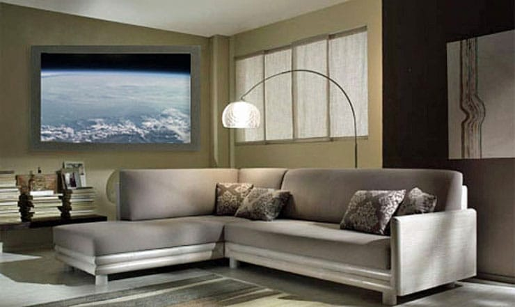 TV System Provides A Realistic Breathtaking View Outside Your Window