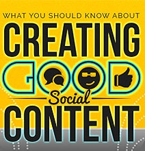 What You Need To Know About Creating Good Social Content [Infographic]