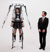 Powered Jacket: First Commercial Exoskeleton To Be Released In Japan