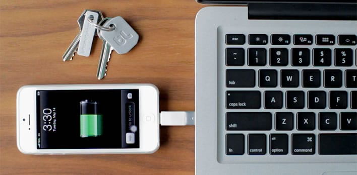 Accessory Charger For iPhone Is So Small That It Fits On Your Keychain