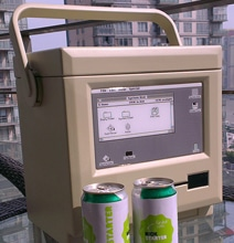 MaCool Is Your 8-Bit Beverage Cooler Based On A Retro Macintosh