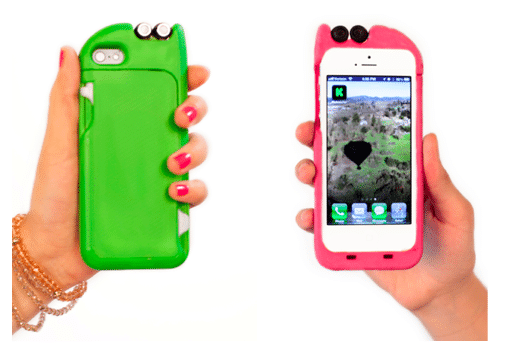 Multifunction Case For iPhone Has Retractable Earbuds