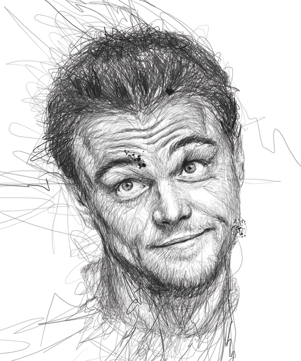 pen-stroke-faces-art