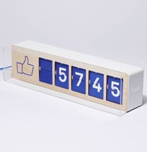 Fliike Allows You To Display Your Facebook Like Count In Real Life
