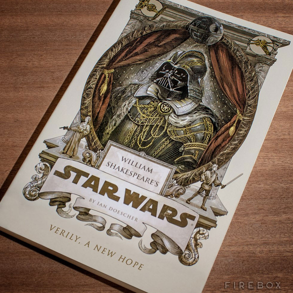Star Wars Written In Shakespeare Style Complete With Iambic Pentameter