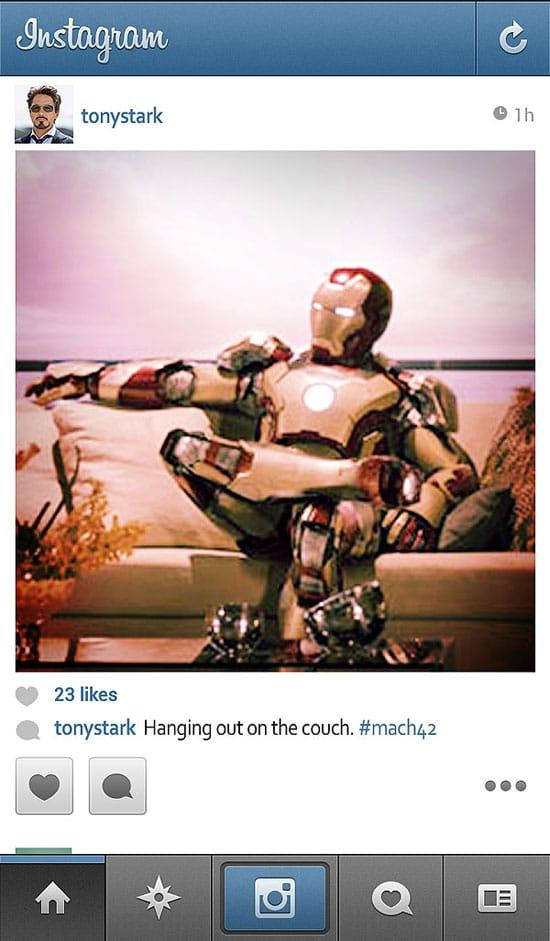 if-superheroes-ironman-has-instagram