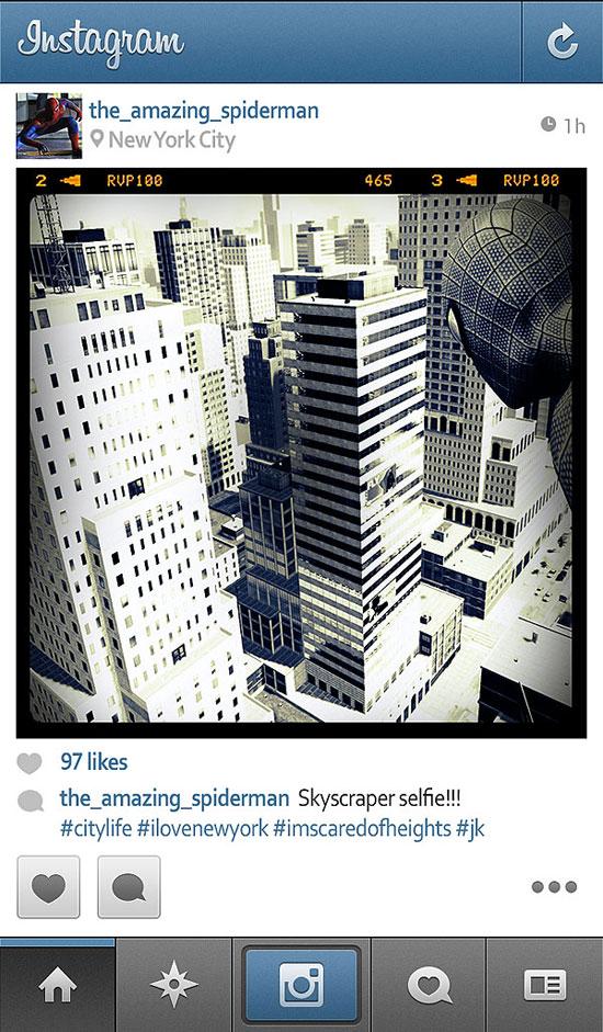 if-superheroes-spiderman-has-instagram